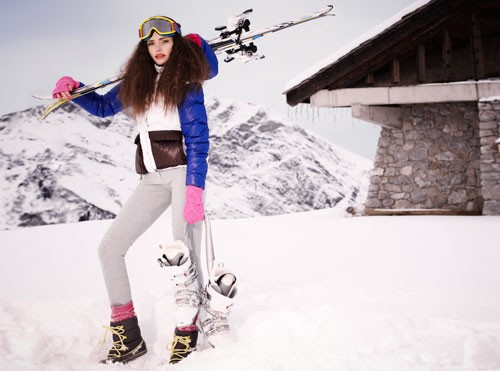Looking Cute on the Slopes