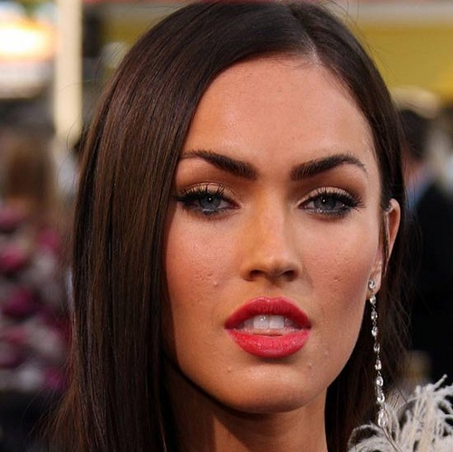 Megan Fox Pimple