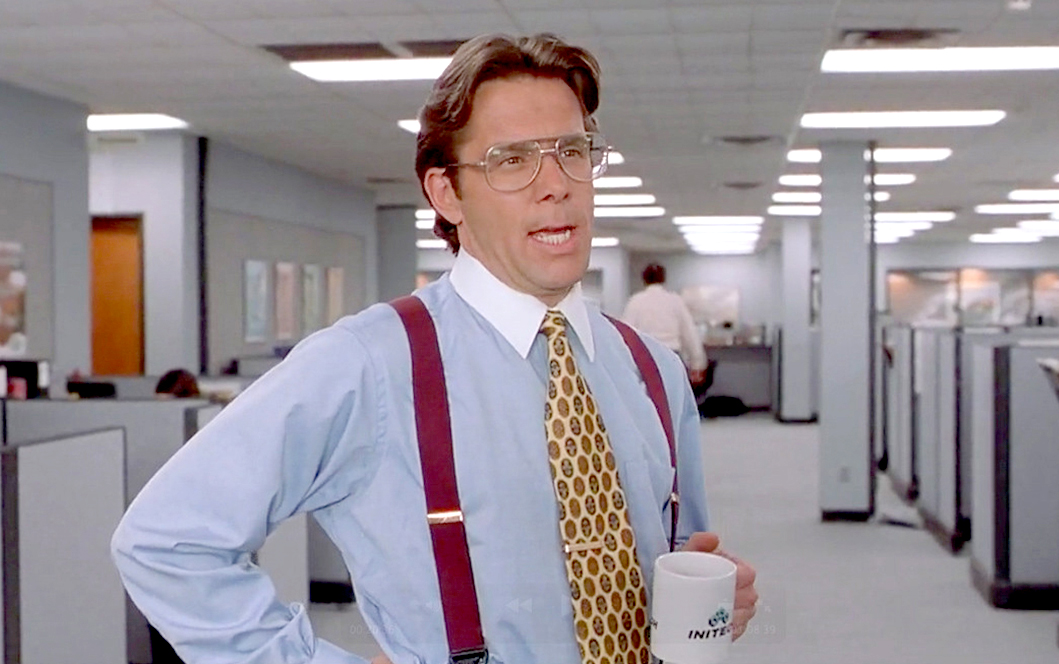 Gentil Gary Cole Office Space Lumbergh