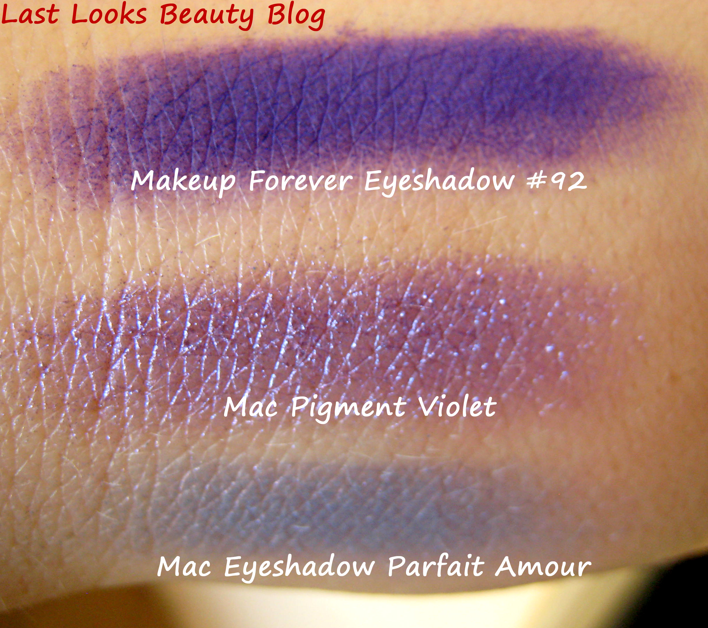 Makeup forever eyeshadow swatches