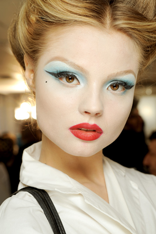 Christian Dior haute couture s/s 2010 makeup