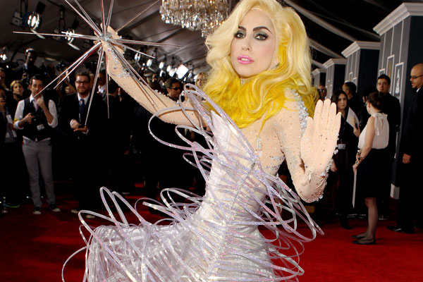 Lady Gaga Grammys 2010 Dress