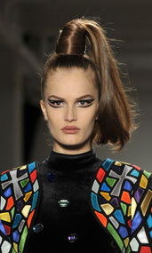 Jeremy+Scott Makeup Fall 2010