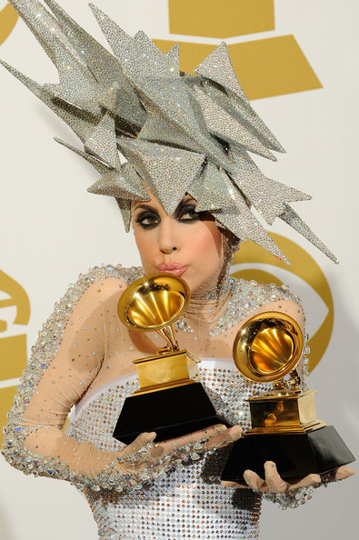 Lady Gaga's Grammy Makeup