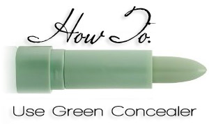 How To: Neutralize Redness with Green Concealer