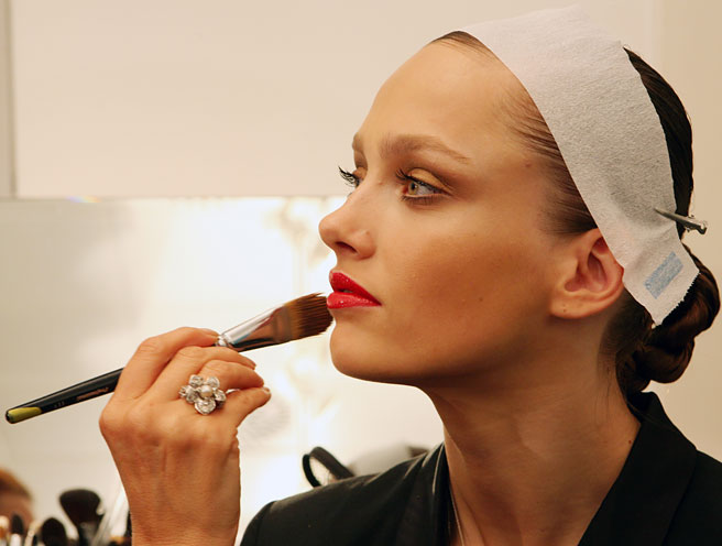 Gucci Backstage Red Lips