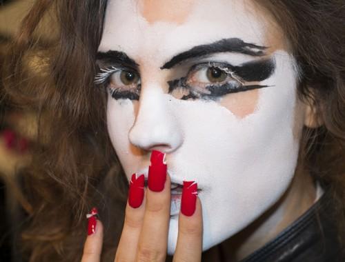 Vivenne Westwood SS 2014 Avant Garde Makeup