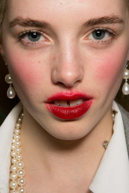 Vivienne Westwood Red Label Makeup Fall 2014