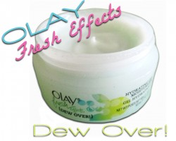 beauty review: olay fresh effects dew over