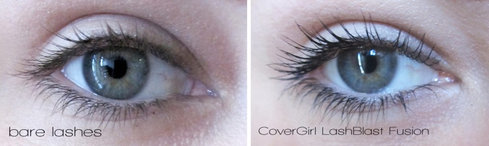 covergirl lashblast fusion before after photos
