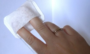 Intrinsics Pillowettes have a pouch for your finger!