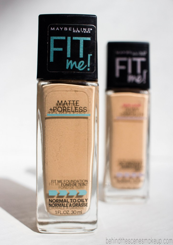maybelline fit me normal to dry