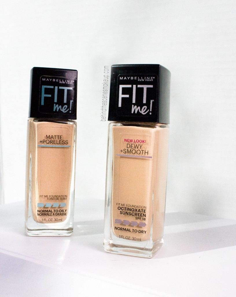 fit me foundation for dry skin