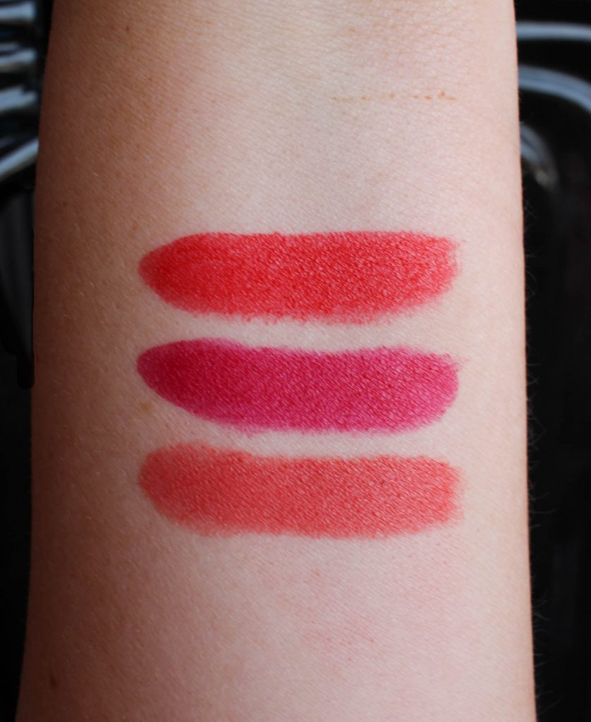 Youngblood Intimatte Lipstick Swatches