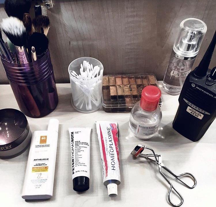 A simple setup for natural makeup