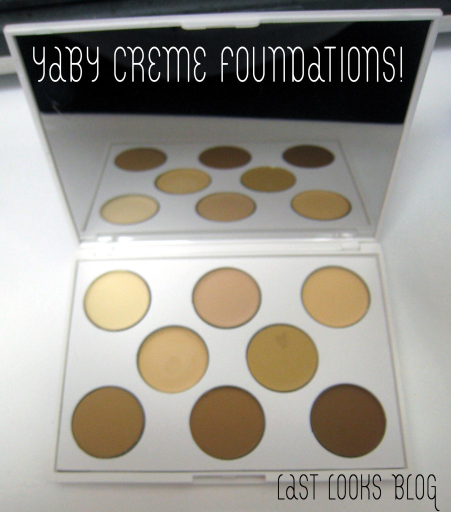 beauty review: Yaby Creme Foundations