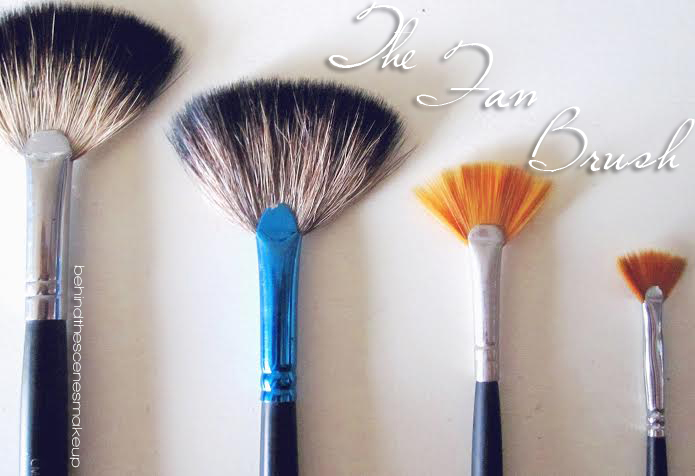 how to use the fan brush