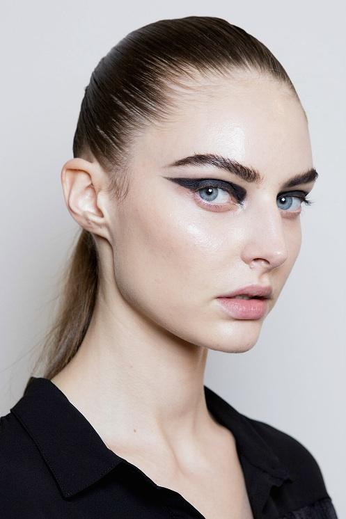 Cushnie et Ochs Spring 2015 Eyeliner