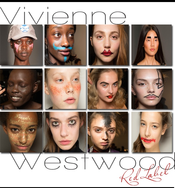 Vivenne Westwood Red Label Spring 2015 Makeup