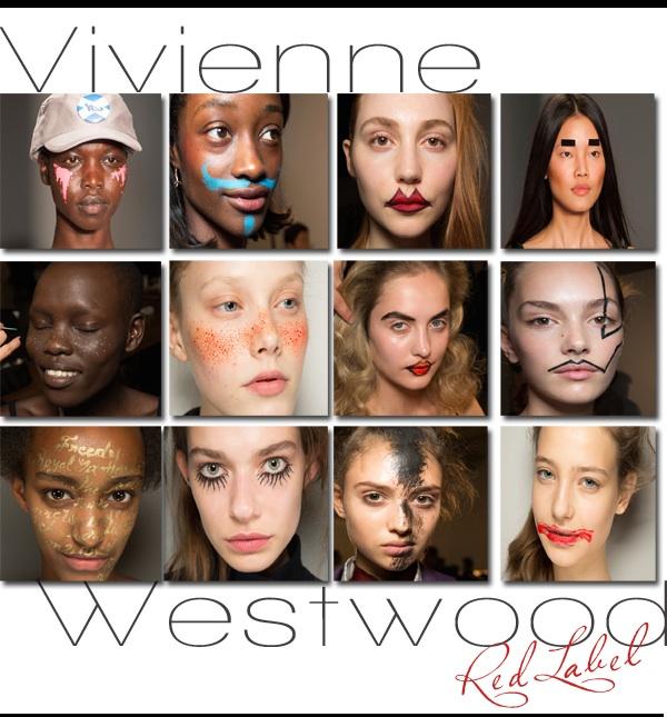 Vivenne Westwood Red Label Spring 2015 Makeup
