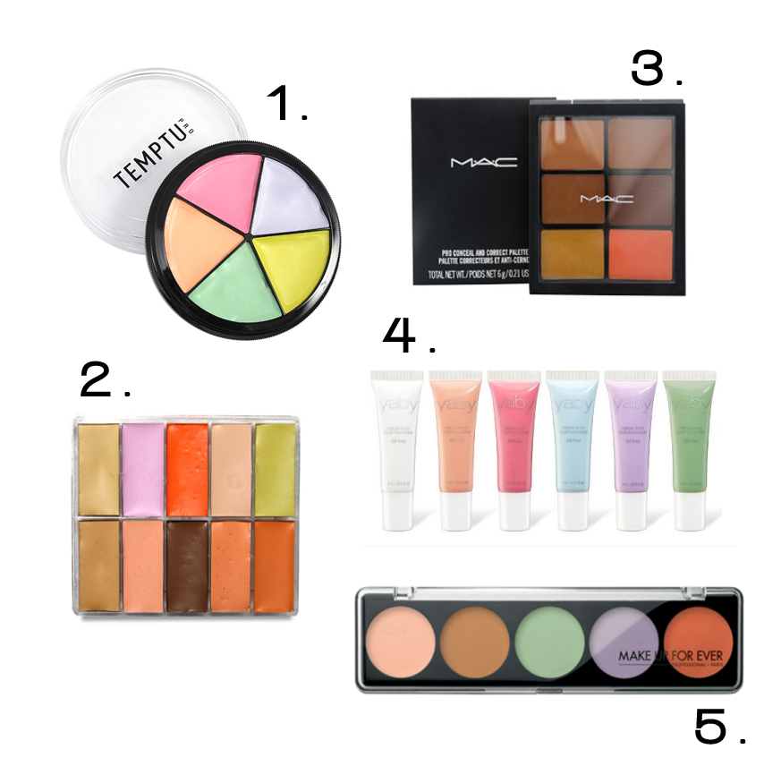 Professional Color Correcting Palettes