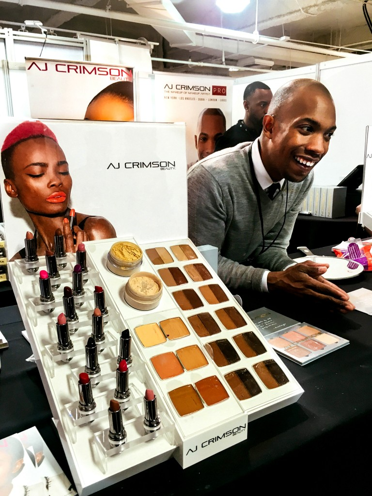 AJ Crimson Beauty : The Makeup Show LA