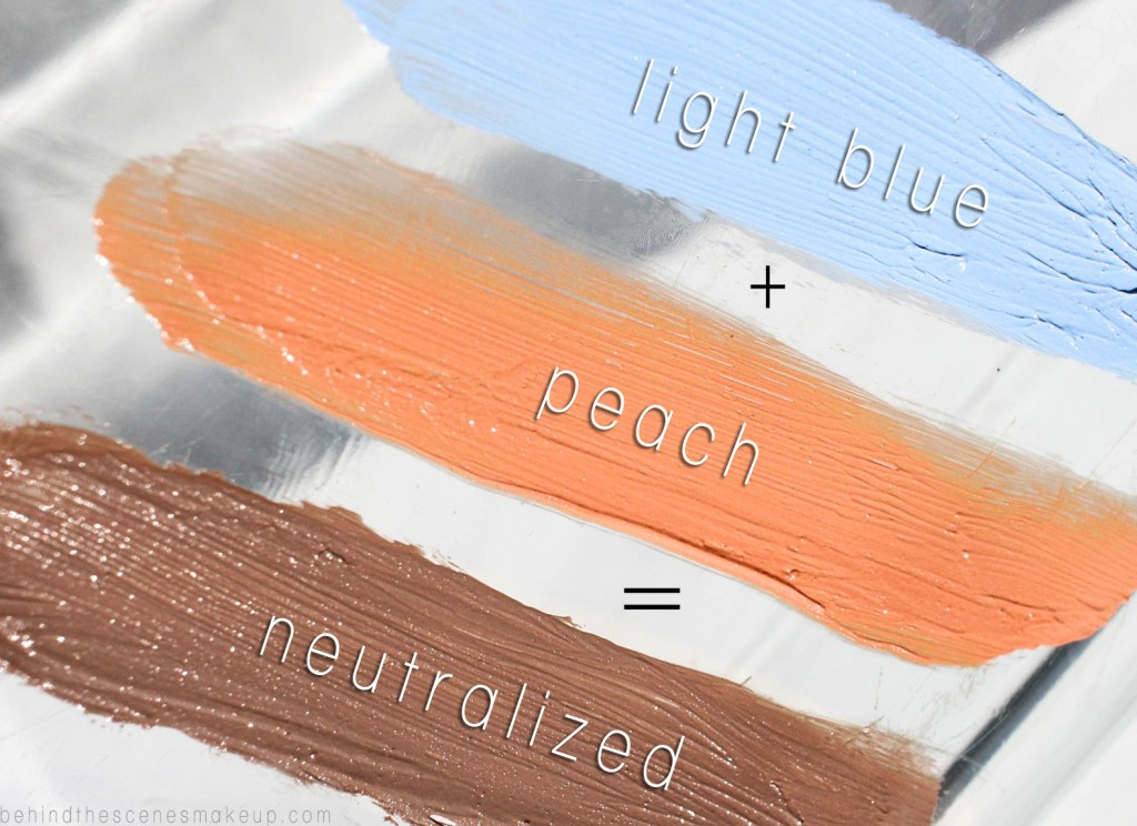 How to Use Peach Concealer