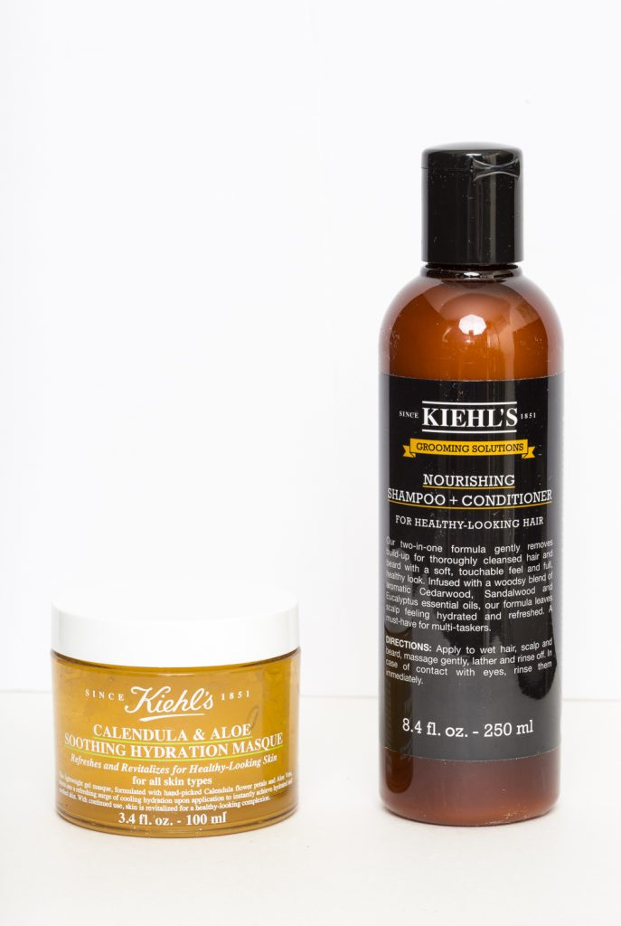 Kiehl's Calendula & Aloe Soothing Hydrating Mask and Shampoo