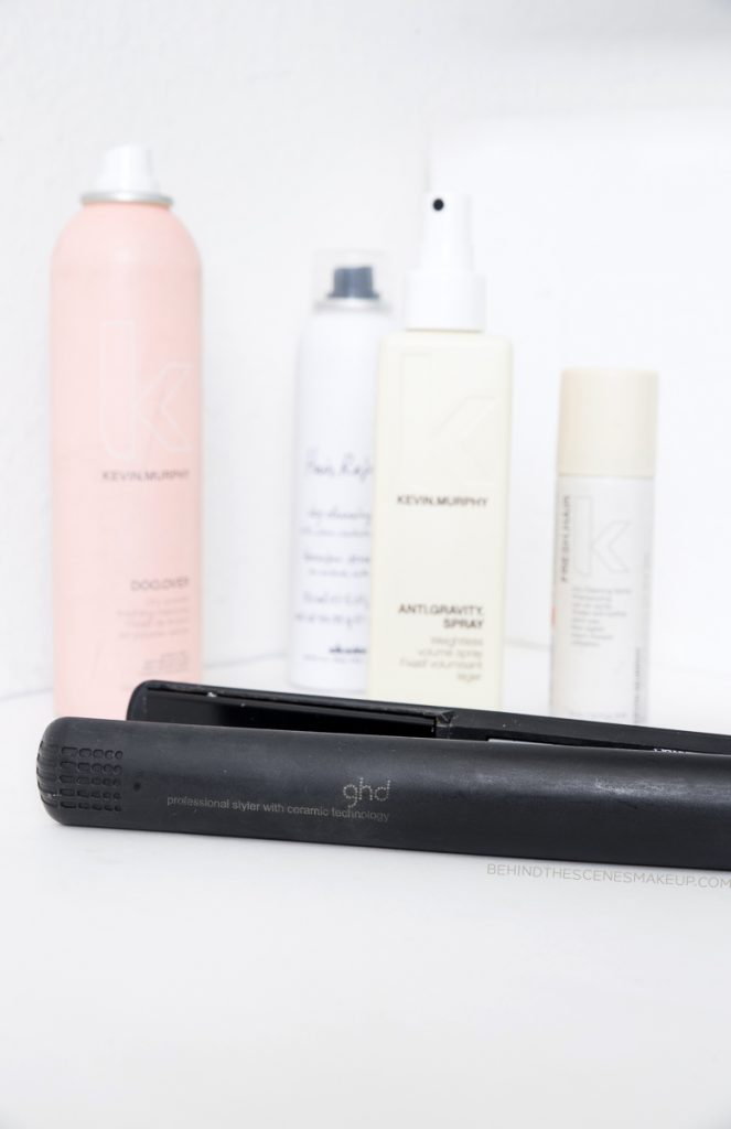GHD Flat Iron + Products