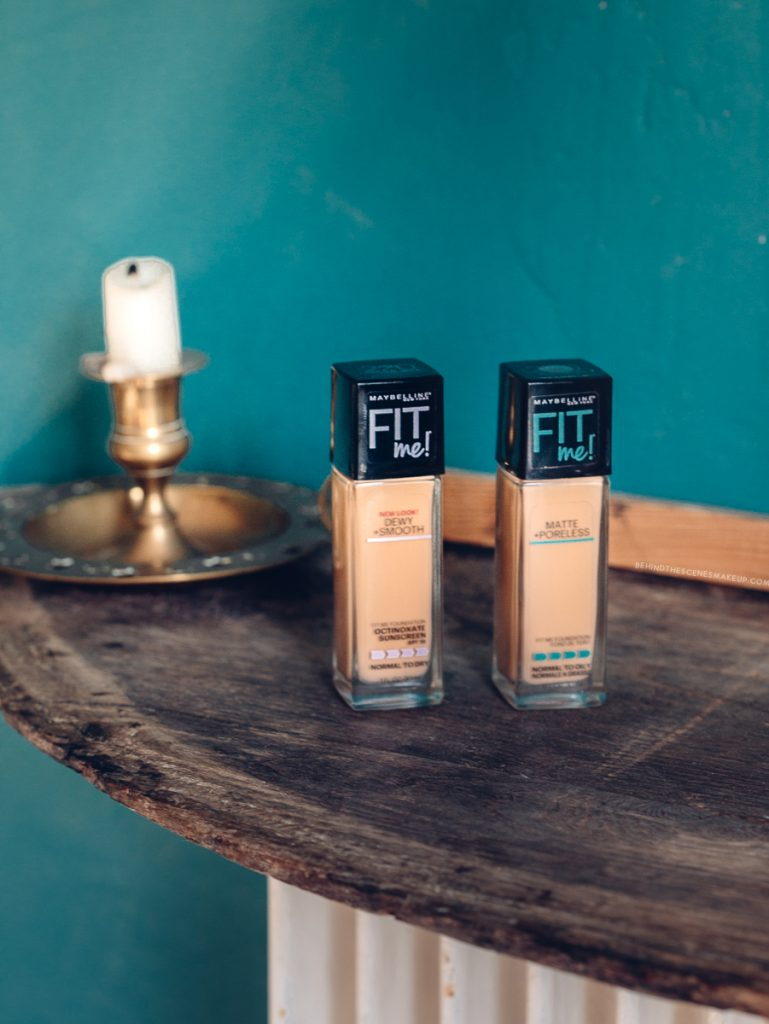 Maybelline Fit Me Foundations | Dewy + Smooth,  Matte + Poreless