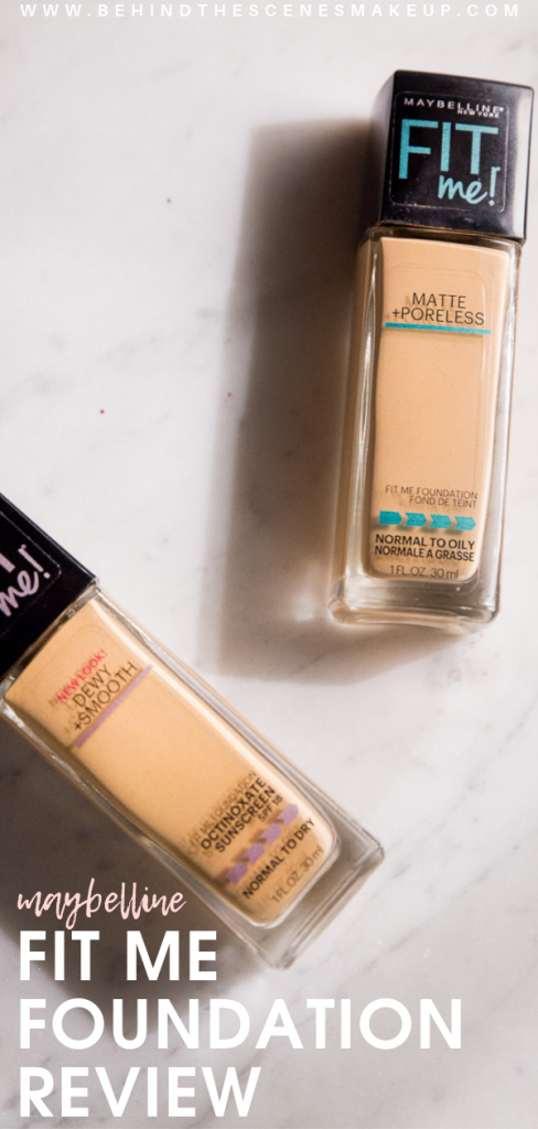 Fit Me Foundation Review