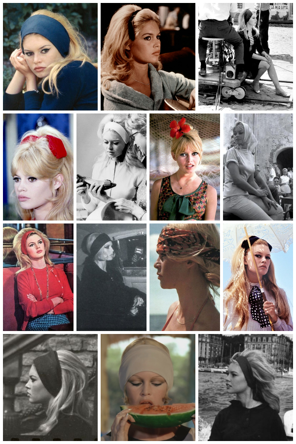 brigitte bardot hair accessories (headbands, ribbons & scarfs)