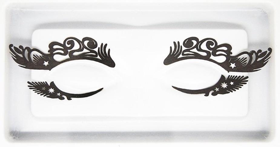 Paper Halloween Eyelashes Masquerade Lashes