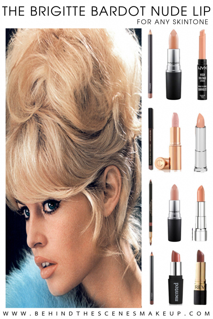 Brigitte Bardot Nude Lipstick for any Skintone