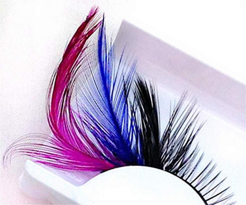 Feather Halloween Eyelashes